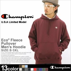 Champion チャンピオン パーカー メンズ 大きいサイズ プルオーバーパーカー プルオーバー アメカジ 無地 裏起毛