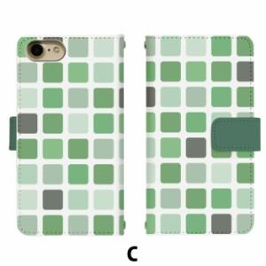 sc01g GALAXY Note Edge SC-01G 手帳型 スマホ デザインケース タイル di132 ★ハード・クール 手帳 カバー  ドット モザイク ブロック