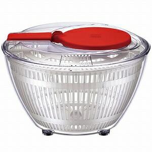 ワールドクリエイト 野菜水切り器 viv サラダスピナー S レッド 68200