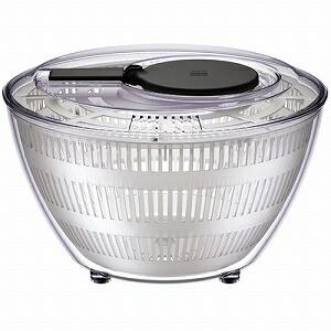 ワールドクリエイト 野菜水切り器 viv サラダスピナー L ブラック 68203