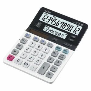(まとめ買い)カシオ ツイン液晶電卓 ミエミエくん DV-220W-N 00010024 〔3台セット〕