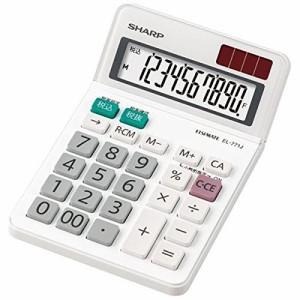 シャープ 電卓 ミニナイスサイズタイプ 10桁 EL-771JX