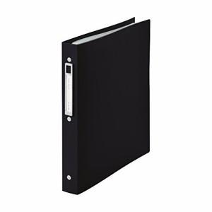 (まとめ買い)リヒトラブ クリヤーブック交換式 noie-style A4 20P ブラック N-7683-24 〔3冊セット〕