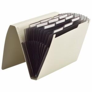 (まとめ買い)リヒトラブ ドキュメントファイル A4 オリーブ A-7620-22 〔3冊セット〕