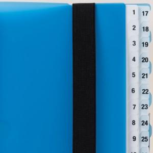 (まとめ)リヒトラブ スケジュール&仕分けファイル 31仕切り A5S 赤 A-4405-3 〔まとめ買い×3セット〕