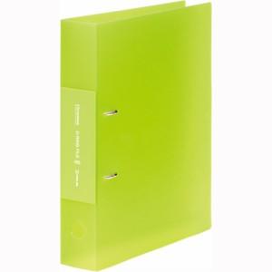 (まとめ買い)キングジム Dリングファイル シンプリーズ A4 黄緑 653TSPキミ 〔5冊セット〕