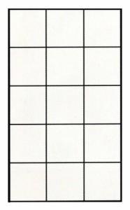 (まとめ)アサヒペン 障子紙 UVカット明るく2倍強い障子紙 無地 25cm×22.5m 半紙判【日よけグッズ】〔まとめ買い×5セット〕