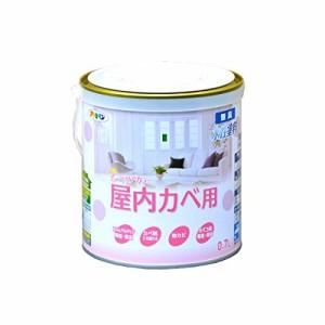 (まとめ買い)アサヒペン NEW水性インテリアカラー屋内カベ 0.7L ホワイトグリーン 〔3缶セット〕