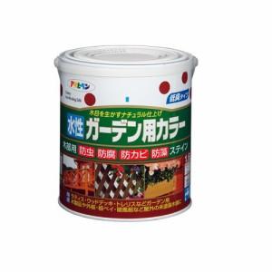 (まとめ買い)アサヒペン 水性ガーデン用カラー マホガニー 1.6L 〔3缶セット〕