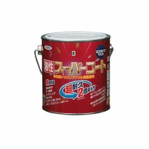 (まとめ)アサヒペン 油性スーパーコート 0.7L 青〔まとめ買い×3セット〕