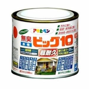 (まとめ買い)アサヒペン 水性ビッグ10多用途 226オールドローズ 1/5L 〔3缶セット〕