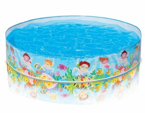 INTEX(インテックス) シュノーケルバディスナップセットプール 152×25cm 56451 ビニールプール 水遊び プール遊び