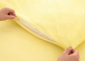 【送料無料】コットンタオルのカバーリング 〔掛布団カバーのみ〕 ダブル フレンチピンク