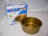 スイト びっくり 湯桶 24cm(内径22cm) 3.2L【キンキラープレート付】