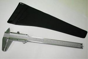 ポケットサイズ高級ノギスMS−150(シルバーM型150m)