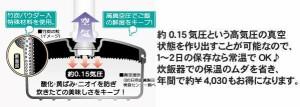 【送料無料】新製品お試し価格 丸型 真空おひつ(新型ポンプ付)