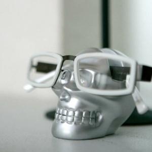 ダルトン スカル 眼鏡ホルダー SKULL GLASSES HOLDER WHITE HG358WT