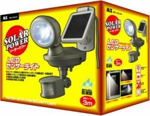 LEDセンサーソーラーライトMSL-SOLEX