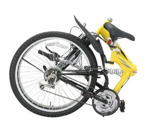 【送料無料】Raychell(レイチェル)26インチ 折りたたみマウンテンバイク MTB-2618R