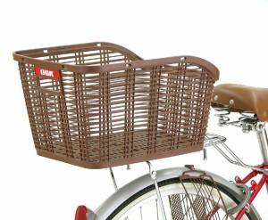 OGK(オージーケー) 自転車用 固定式後ろバスケット RB-005