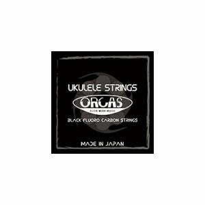 ORCAS(オルカス):日本製 「OS-HARD LG×1セット:ソプラノ、コンサート用ハード・ゲージ/4弦:LOW-G」 国産のウクレレ弦セット 【送料