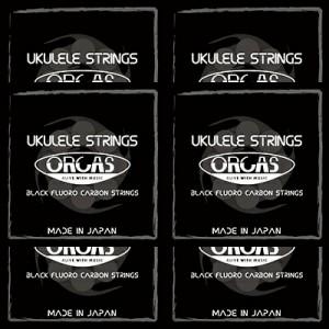 ORCAS(オルカス):日本製 「OS-LGT LG×6セット:ソプラノ、コンサート用ライト・ゲージ/4弦:LOW-G」 国産のウクレレ弦セット 【送料無