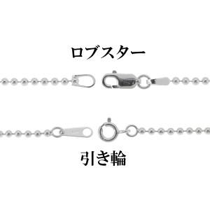 シルバーボールチェーン ボール直径2.0mm 50cm /シルバーチェーン ネックレスチェーン 鎖 シルバー925 SILVER925 SV925