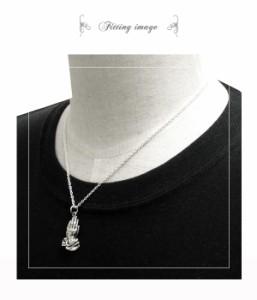 プレイハンズ シルバー ネックレス(チェーン付きペンダントトップ)送料無料 ネックレス メンズ シルバー 925