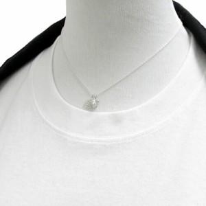 小さな雪の結晶とベル シルバーネックレス /レディース ペンダント リボン 鈴 プレゼント ギフト