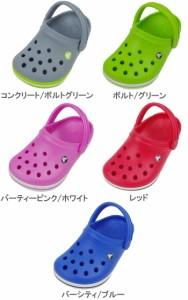 送料無料 クロックス キッズ クロックバンド 子供 ベビー サンダル crocs crocband Xclog 靴 シューズ 男女兼用 男の子 女の子