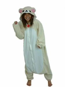 ハロウィン 衣装 着ぐるみ 大人用 フリース 仮装 コスプレ コスチューム コリラックマ ハロウィン 衣装 コスプレ 着ぐるみパジャマ