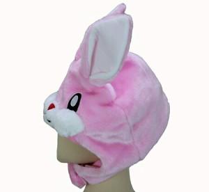 ハロウィン コスプレ 仮装 着ぐるみ キャップ 着ぐるみ帽子 なりきり帽子 かわいい うさぎ ウサギ アニマル キャラクター パーティー