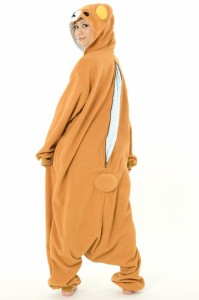 送料無料 ハロウィン コスプレ 仮装 フリース 着ぐるみ キャラクター 大人用 リラックマ 着ぐるみパジャマ 部屋着 文化祭 お祭り