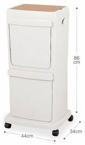 分別用ダストペールワゴン45L#16