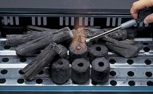 エコー 1発着火炭 3kg入り M-6724 #31
