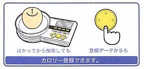 【送料無料】タニタ カロリースケール CK-005-WH21 #20