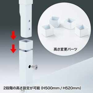 プリンタスタンド(W700×D700) サンワサプライ(SANWA SUPPLY) 【取】