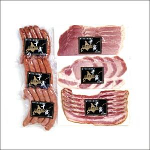 送料無料 にくやまハム 黒ラベルギフトセットC 【肉の山本 ジンギスカン 成吉思汗 グルメ ギフト お取り寄せ 入学 進学 内祝い】