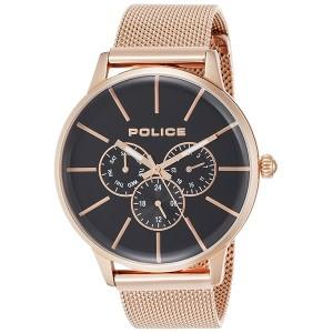 POLICE(ポリス) メンズ 腕時計 SWIFT(スイフト) 14999JSR-02MM(ステンレスバンド クオーツ アナログ)(正規輸入品)