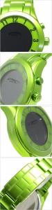 【送料無料】【送料無料】ロマゴデザイン腕時計 ROMAGO DESIGN時計 スーパーレジェーラ Super leggera /メンズ/RM028-0287AL-GR