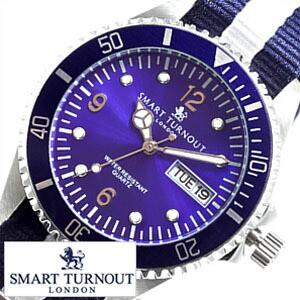 【送料無料】【送料無料】スマートターンアウト腕時計 SMART TURN OUT時計 ダイバー メンズ/ST-006-NV