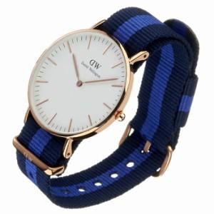 【送料無料】【送料無料】ダニエルウェリントン腕時計 クラシック スウォンジ ローズ メンズ/レディース/ユニセックス腕時計/オフホワイ
