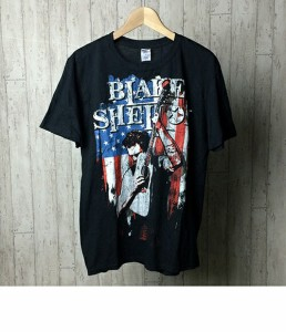 プリント Tシャツ ブレイクシェルトン SIZE L (L) 2012年ツアー 半袖 古着 ブラック メンズ 【中古】