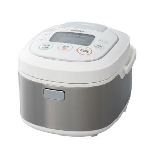 【送料無料】 マイコンジャー炊飯器 haier ハイアール JJ-M55B(W) ホワイト 5.5合 炊飯ジャー 銅コート 3mm極厚釜