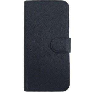 (ゆうパケ対応)iPhone7 手帳カバー 耐水 iPhone7 ケース 手帳型 iPhone iPhone7 手帳ケース (ネイビー) 2717IP7A(4988075607132)