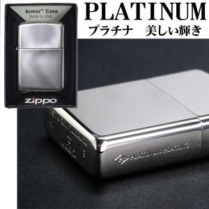 zippo(ジッポーライター)プラチナプレーティングジッポー 鏡面仕上げ#162PT