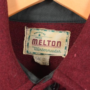 メルトン ヘビーウールシャツ メンズM ヴィンテージ MELTON 【170129】 /wez4334