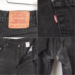 90年代 リーバイス USA製 ブラックジーンズ デニムパンツ メンズw34 Levi's 【170522】 560 /wad9085