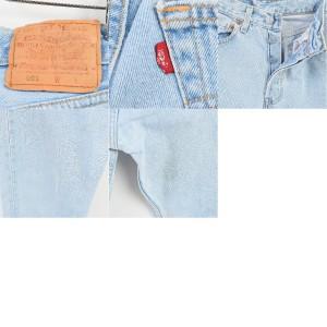 リーバイス Levi's ジーンズ ストレートデニムパンツ USA製 レディースM(w25) 【170902】 501 /wai7189