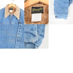 70〜80年代 ラングラー Wrangler デニムボアジャケット USA製 メンズM ヴィンテージ 【171002】 /wag8365